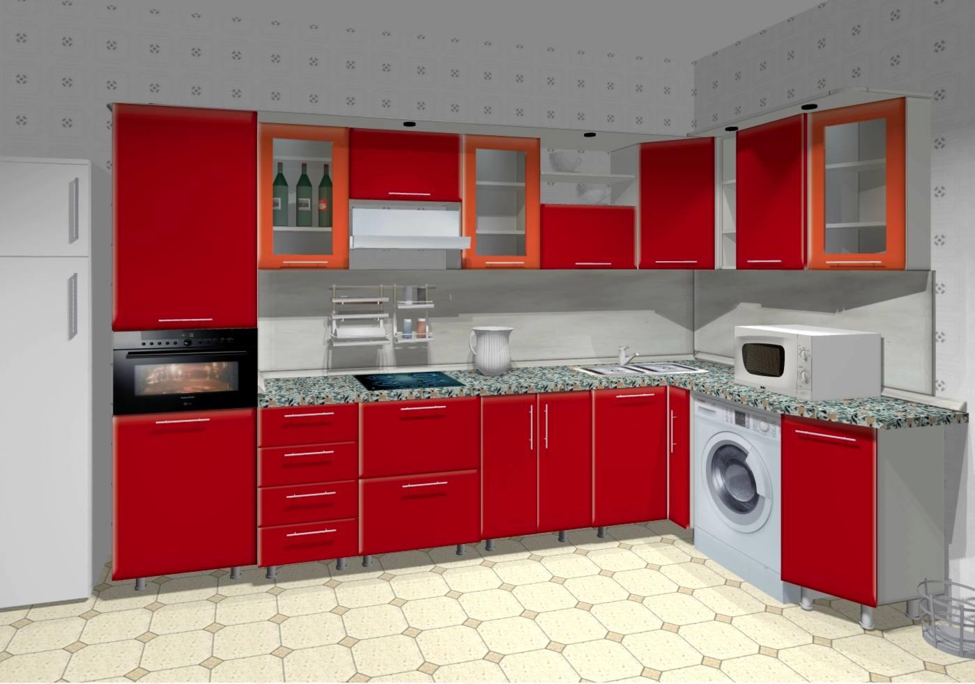 Как сделать самостоятельно 3д кухни